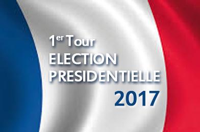 1er tour elections présidentielle 2017