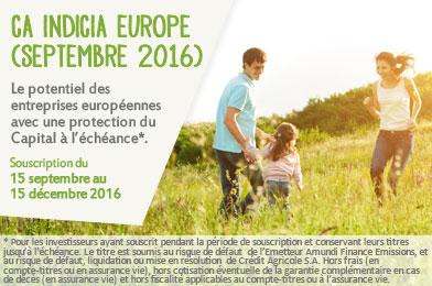 CA Indicia Europe (Septembre 2016