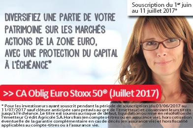 CA Oblig Euro Stoxx 50 (juillet 2017)