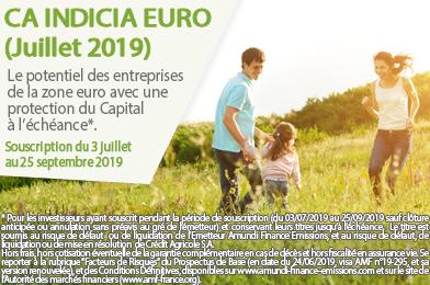 CA Indicia Euro (Juillet 2019)
