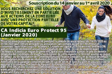 CA Indicia Euro Protect 95 (Janvier 2020)