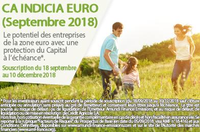 CA Indicia Euro (Septembre 2018)