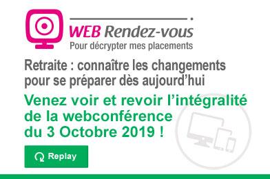 Web RDV - 3 octobre 2019
